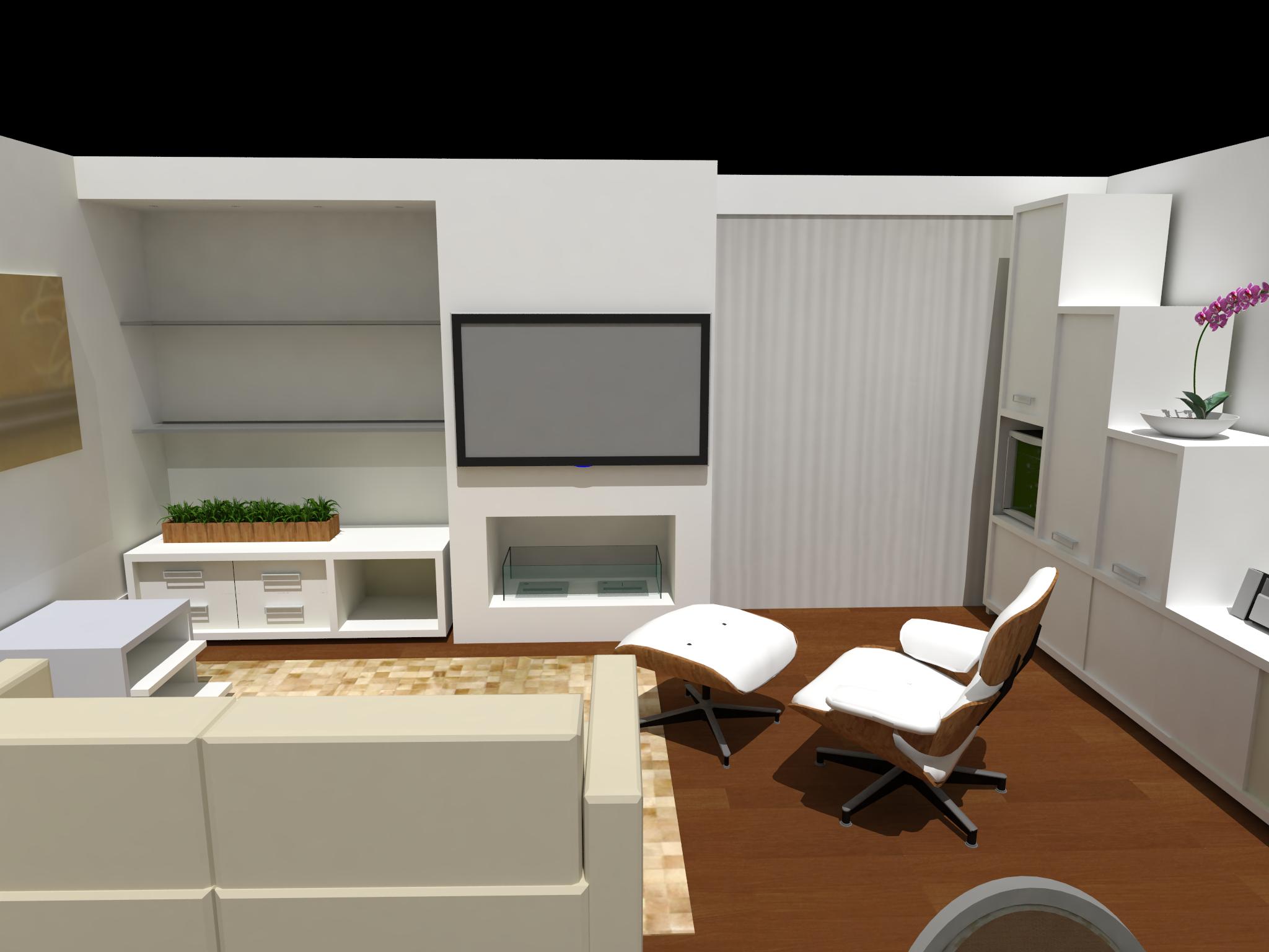 Sala De Estar Gloria Mercadolibre ~ Apartamento Jd do Golf  Arquitetura e Paisagismo  Glória Cabo
